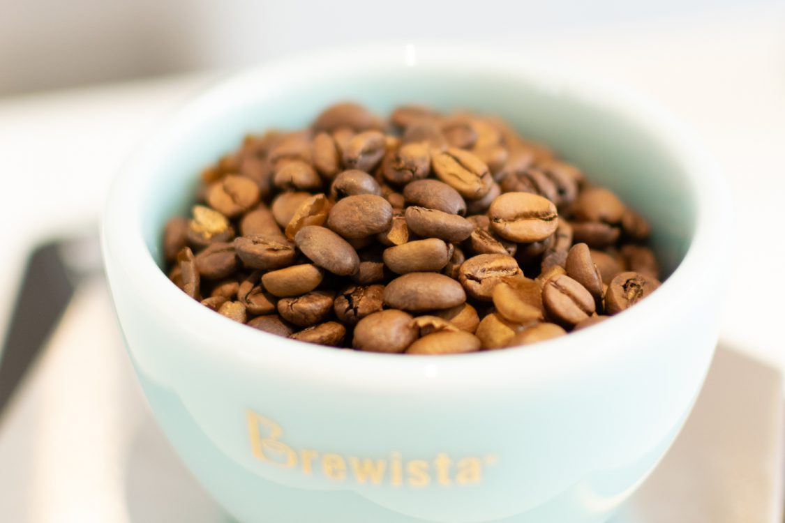 Coffee beans used during the introduction to coffee course
