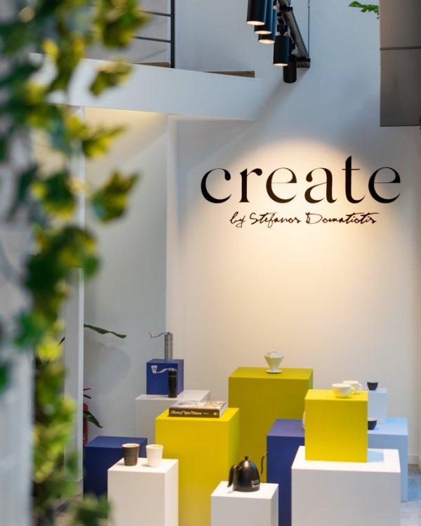 Retail concept corner at Create