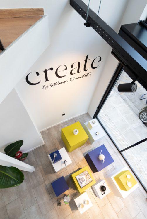 Retail corner at Create