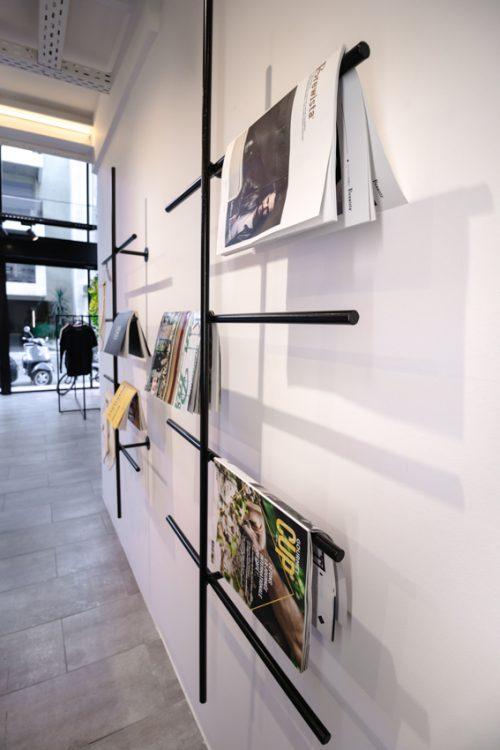 Book and magazine corner at Create
